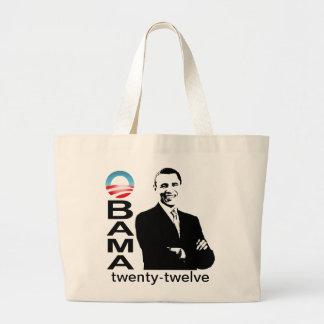 Obama 2012 - Obama twenty-twelveTote Tote Bags