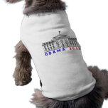 Obama 2012 para Whitehouse Camisetas Mascota