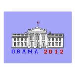 Obama 2012 para Whitehouse Postal