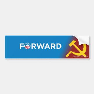 Obama 2012 (parodia) delantero en socialismo etiqueta de parachoque
