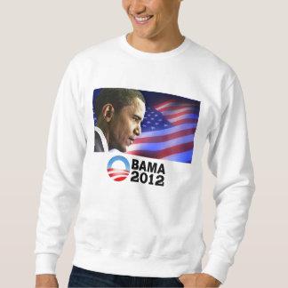 Obama 2012 (patriótico) sudadera