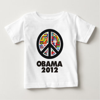 obama 2012 peace sign baby T-Shirt