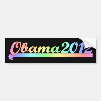 Obama 2012 pegatina para auto
