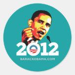 Obama 2012 pegatinas