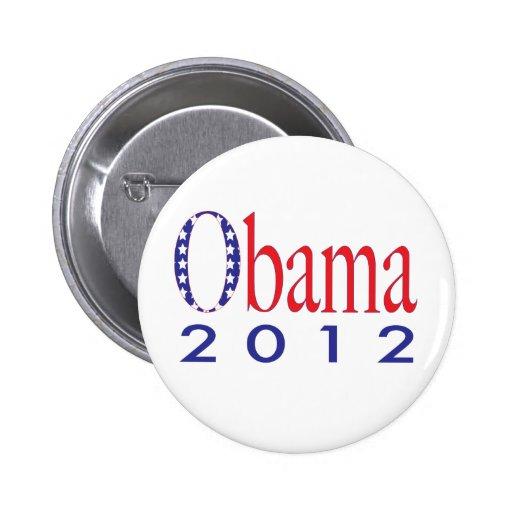 Obama 2012 pin