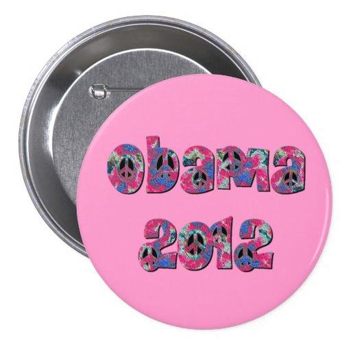 Obama 2012 pin redondo 7 cm