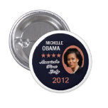 OBAMA 2012 PINBACK BUTTON