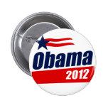 Obama 2012 pinback button