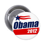 Obama 2012 pinback buttons
