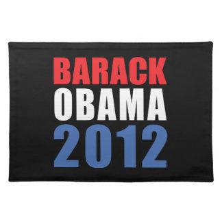 Obama 2012 cloth place mat