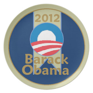 Obama 2012 plate