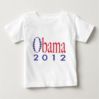 Obama 2012 playera de bebé