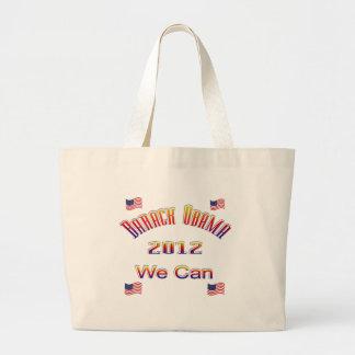 Obama 2012 podemos rojo bolsa de mano