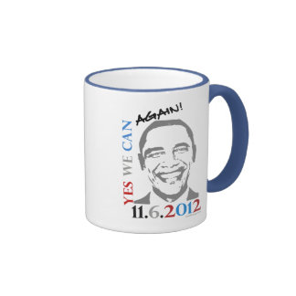 ¡Obama 2012 podemos sí otra vez! Taza