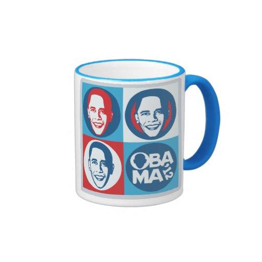Obama 2012 Pop Art Mug