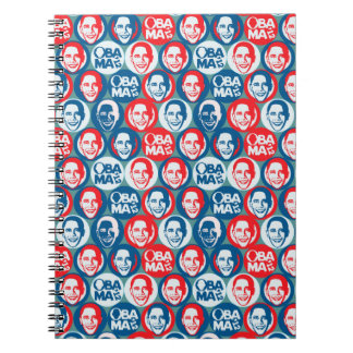 Obama 2012 Pop Art Notebook