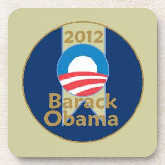 Obama 2012 posavasos de bebida