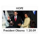 Obama 2012 postales