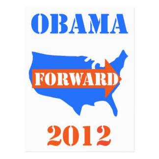 obama 2012 postcard