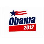 Obama 2012 postcards