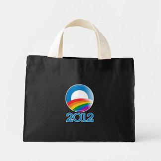 Obama 2012 Pride Button Tote Bag