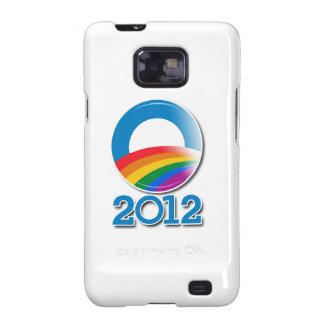 Obama 2012 Pride Button Galaxy SII Case