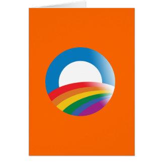 OBAMA 2012 PRIDE - -.png Greeting Card