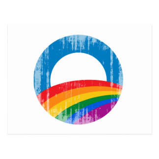 Obama 2012 Pride Vintage.png Postcard