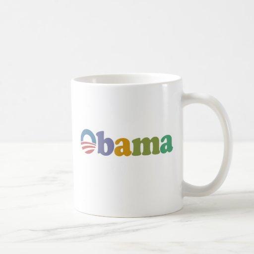 Obama 2012 Rainbow Classic White Coffee Mug