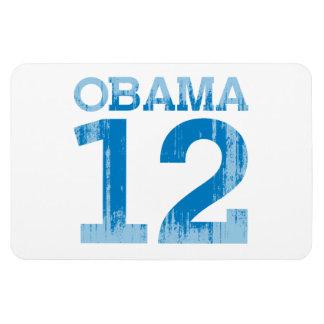 OBAMA 2012 RECTANGULAR MAGNET