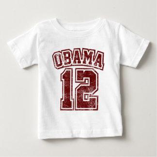 obama 2012 red vintage light shirt