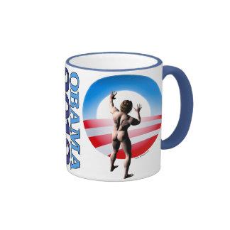 Obama 2012 ringer coffee mug