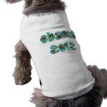 Obama 2012 ropa perro