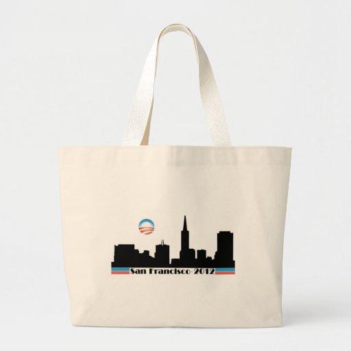 Obama 2012 San Francisco Skyline Bags