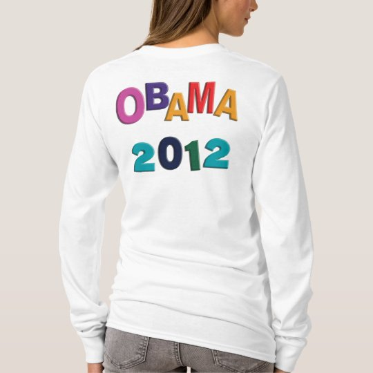 Obama 2012 Scrambled Refrigerator Letters Hoodie