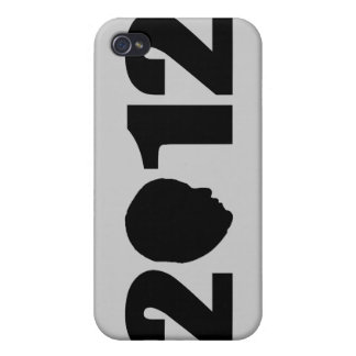 Obama 2012 Silhouette iPhone 4/4S Covers