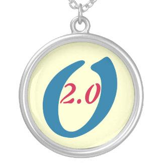 OBAMA 2012 Silver Campaign Necklace