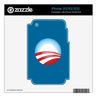 Obama 2012 skin for the iPhone 3GS