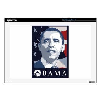 Obama 2012 laptop decal