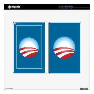 Obama 2012 skin for kindle fire