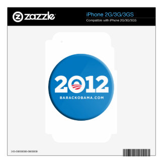 Obama 2012 skin for the iPhone 3G