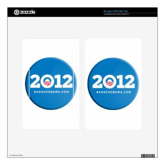 Obama 2012 skins for kindle fire