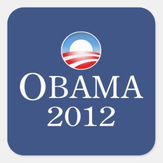 Obama 2012 Square Sticker