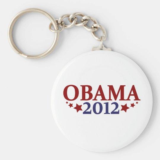 Obama 2012 Stars Keychain