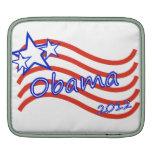 Obama 2012 Stripes With 3 Stars iPad Sleeve