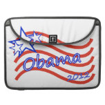 Obama 2012 Stripes With 3 Stars MacBook Pro Sleeves