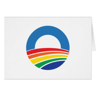 Obama 2012 Support for Gay Marriage Card