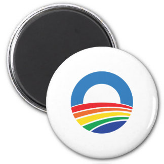 Obama 2012 Support for Gay Marriage Magnet
