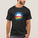 Obama 2012 Support for Gay Marriage T-Shirt