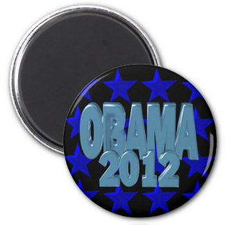 Obama 2012 Support our president on 30 items 2 Inch Round Magnet